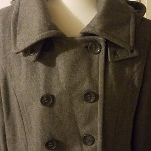 Calvin Klein wool blend dress jacket for women si